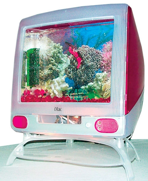 Donate cell phone hobi international inc for Desktop fish tank