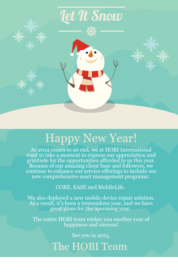 Holiday Infographic