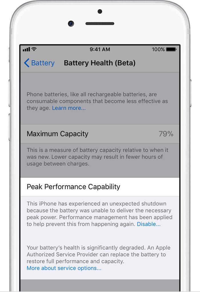 HOBI battery health