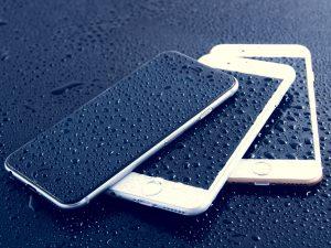 HOBI Charging Electronics in the Rain