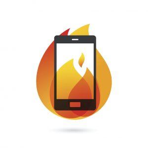 HOBI smartphone thermal event battery