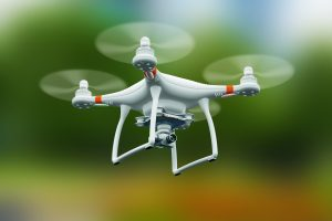 HOBI drone used in fire